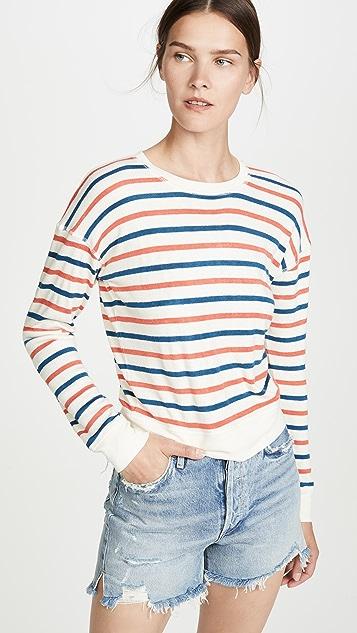 Madewell 运动风格皱缩运动衫
