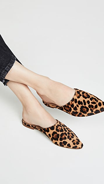 Madewell The Remi 尖头穆勒鞋