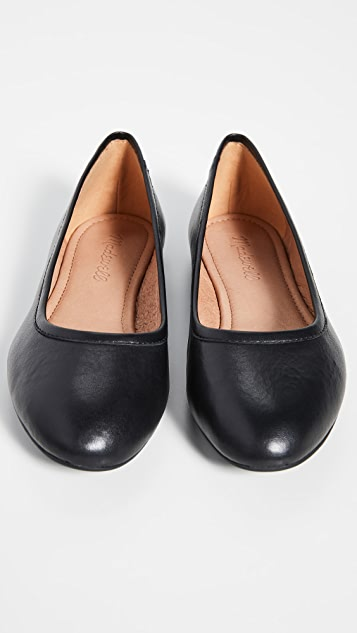 Madewell The Reid 平底芭蕾舞鞋