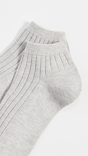 Madewell 罗纹及踝短袜