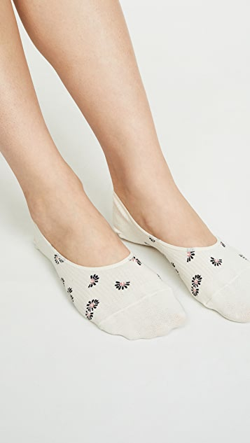 Madewell 隐形手帕雏菊袜子 2 件装
