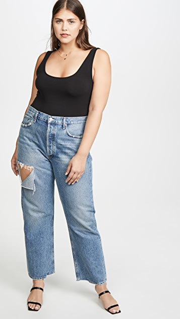 Madewell Billie T 字型紧身连衣裤