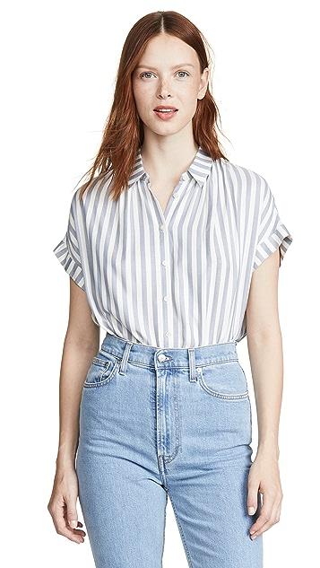Madewell Central 系扣衬衫
