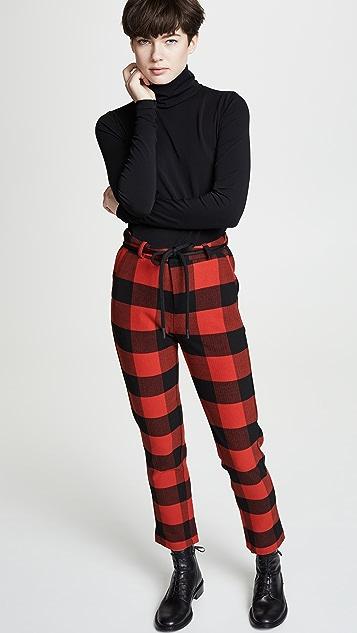 Scotch & Soda/Maison Scotch 修身格纹裤