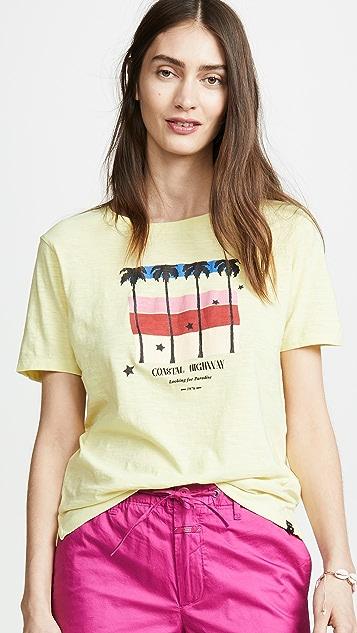 Scotch & Soda/Maison Scotch 短袖 T 恤