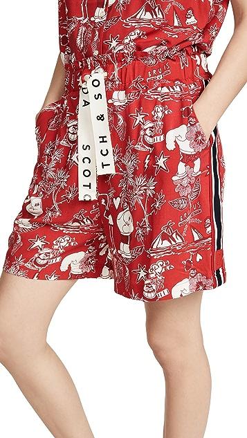 Scotch & Soda/Maison Scotch Brutus 夏威夷印花短裤