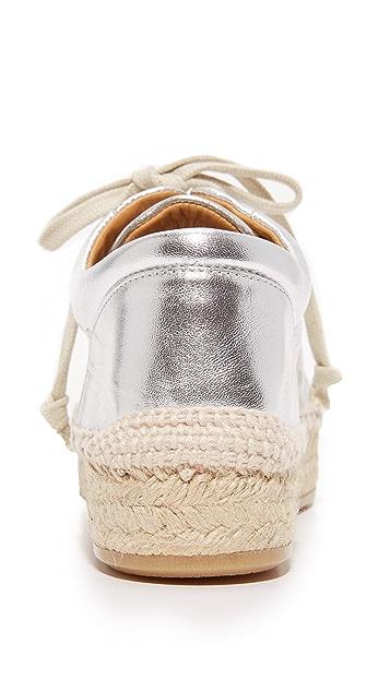 MM6 编织厚底运动鞋