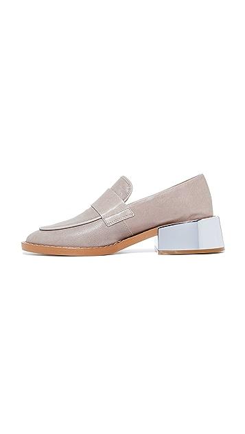 MM6 粗跟船鞋