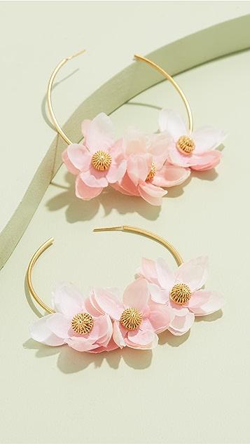 Mallarino Gabby 圈式耳环