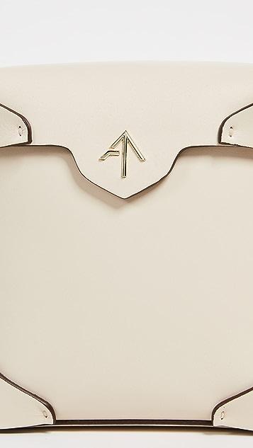 MANU Atelier 迷你纯色链条方形包
