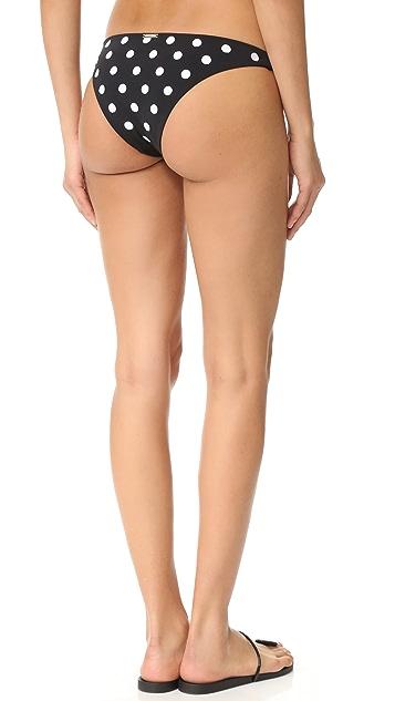 Mara Hoffman 刺绣低腰泳裤