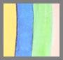 彩虹水彩色条纹