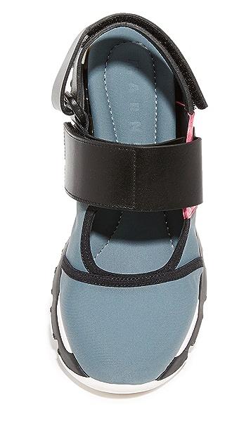 Marni 运动平底鞋