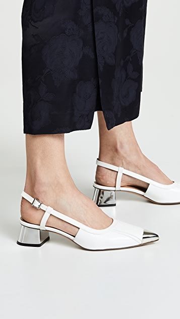Marni 露跟浅口鞋