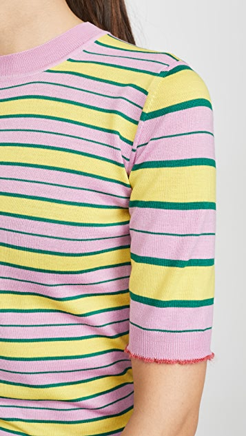 Marni 条纹毛衣