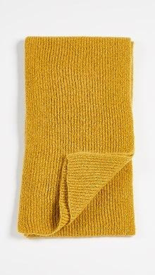 마르니 Marni Ribbed Scarf,Yellow