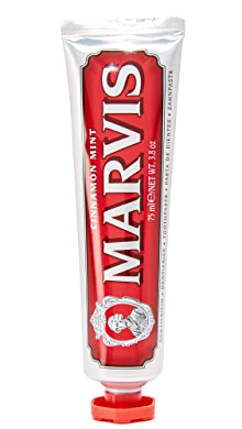 Marvis Cinnamon Mint Toothpaste,No Color