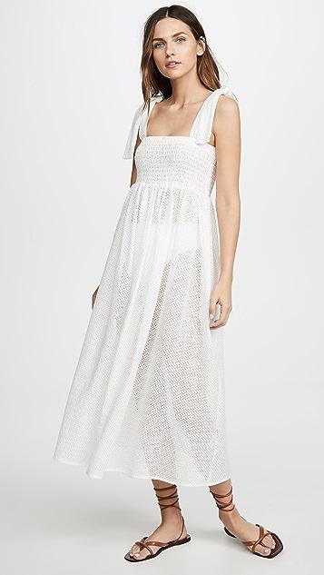 Marysia Sicily 抽褶连衣裙