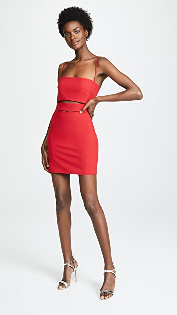 Michelle Mason 镂空迷你连衣裙