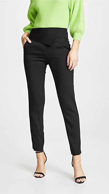 Michelle Mason 腰褶长裤