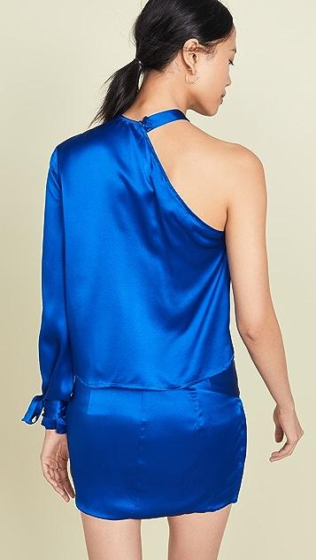 Michelle Mason 单袖上衣