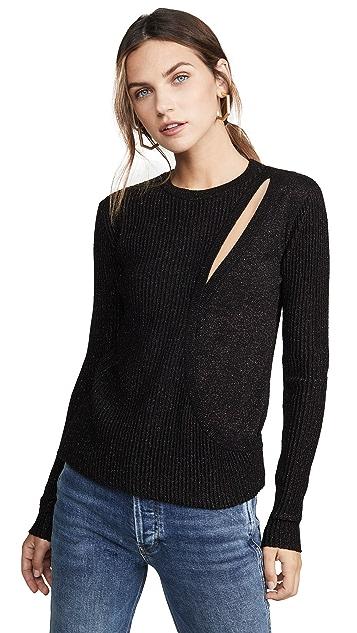 Michelle Mason 不对称分层毛衣