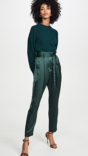 Michelle Mason 纸包中长裤