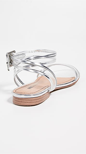 Matiko Lynne 乙烯树脂凉鞋