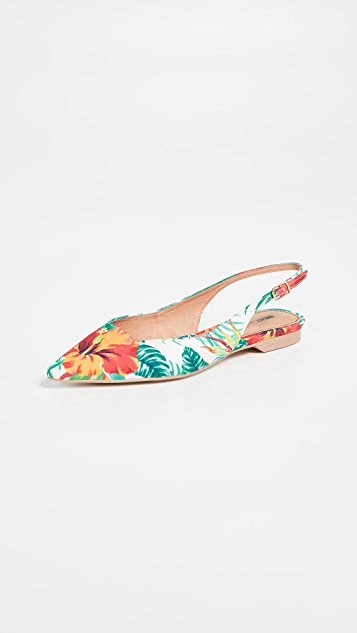 Matiko Lori 尖头露跟平底鞋