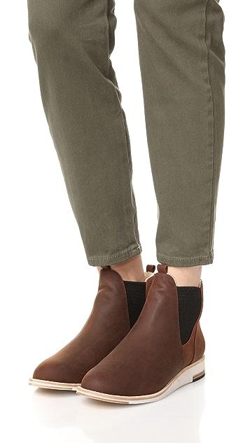 Matt Bernson Infinity Chelsea 连毛羊皮短靴