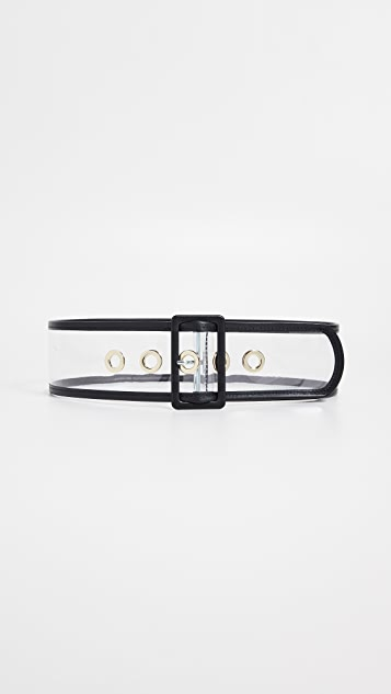 Maison Boinet 60mm 透明色腰带