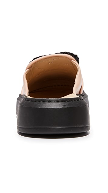 Michaela Buerger 平底无跟便鞋