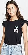 Michaela Buerger 小肩袖 T 恤