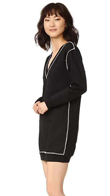 McQ - Alexander McQueen 运动衫式连衣裙