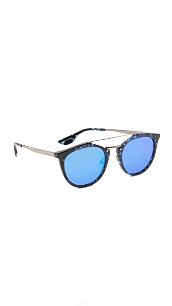 McQ - Alexander McQueen 牛津风格镜面太阳镜