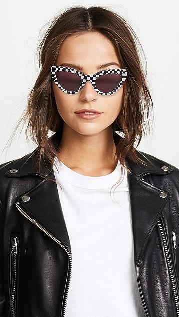 McQ - Alexander McQueen Cult 猫眼太阳镜