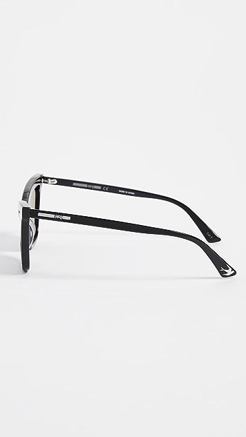 McQ - Alexander McQueen 猫眼镜片太阳镜