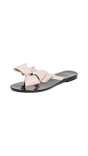 Melissa Harmonic 蝴蝶结 III 夹趾凉鞋