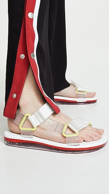 Melissa Papete + Rider 凉鞋