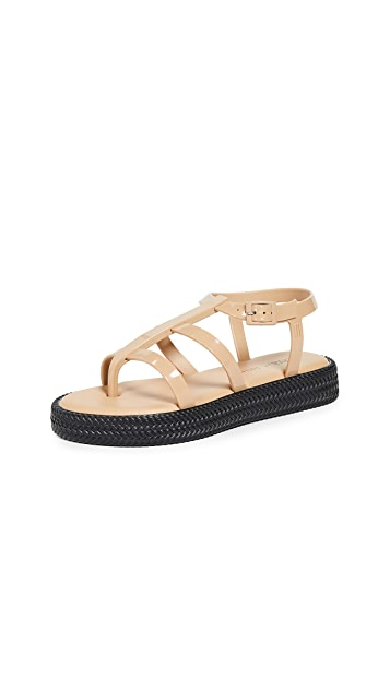 Melissa x Salinas Caribe 绑带凉鞋