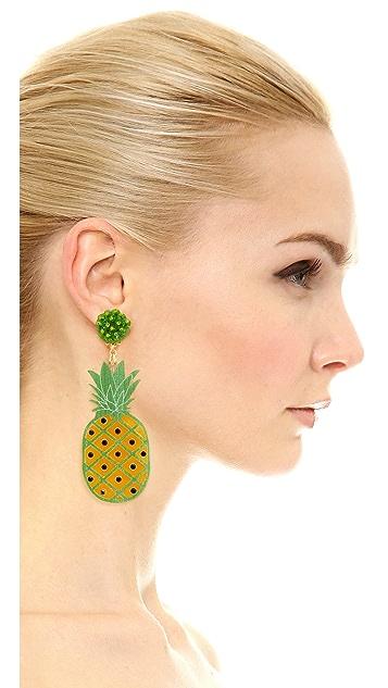 Mercedes Salazar Pina 夹式耳环