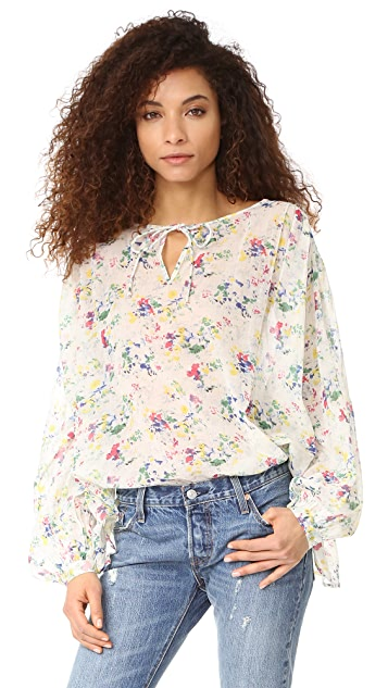 Mes Demoiselles Ashton 花朵印花女式衬衫