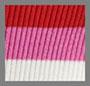粉色/白色/红色条纹