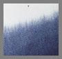 白色/靛蓝浸染