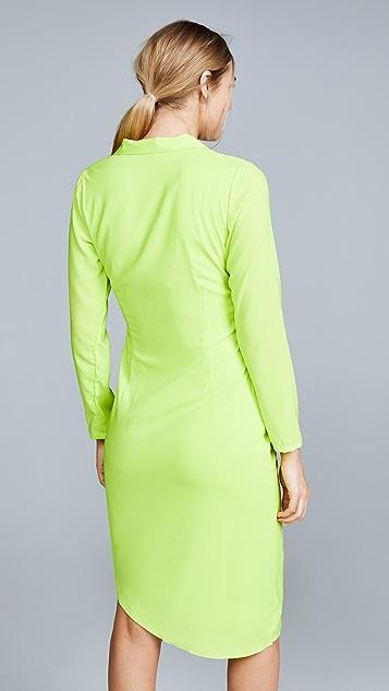 Miaou Vanessa 裹身式连衣裙
