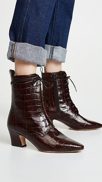 Miista Zèlie 系带短靴