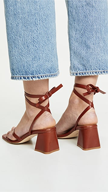 Miista Quima 系带凉鞋