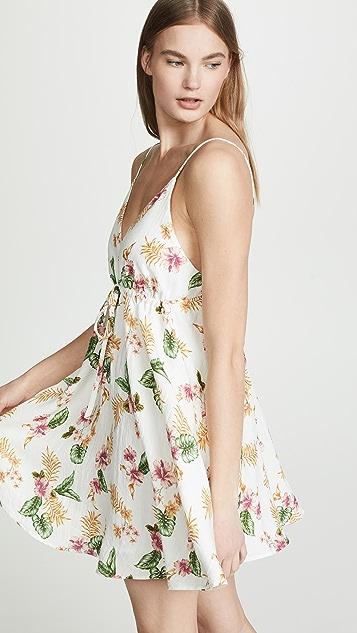 MINKPINK 热带风格大摆连衣裙