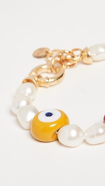 Maison Irem Nazar 珍珠手链