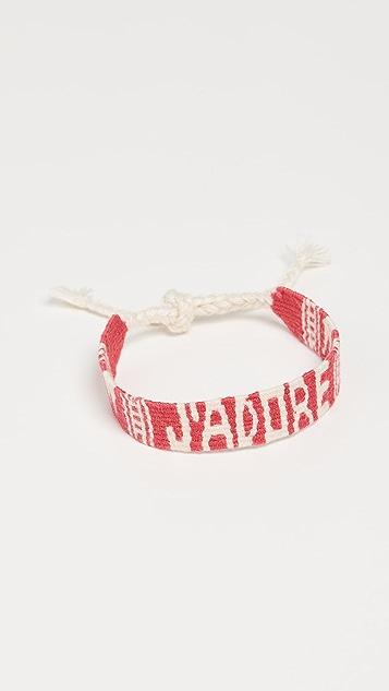 Maison Irem Mantra 梭织手链